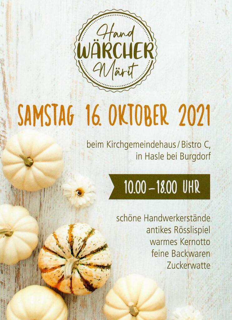 Handwerker-Märit Hasle bei Burgdorf
